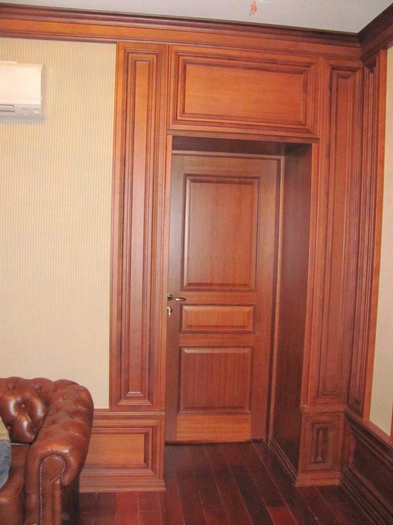 Филенчатые двери из массива